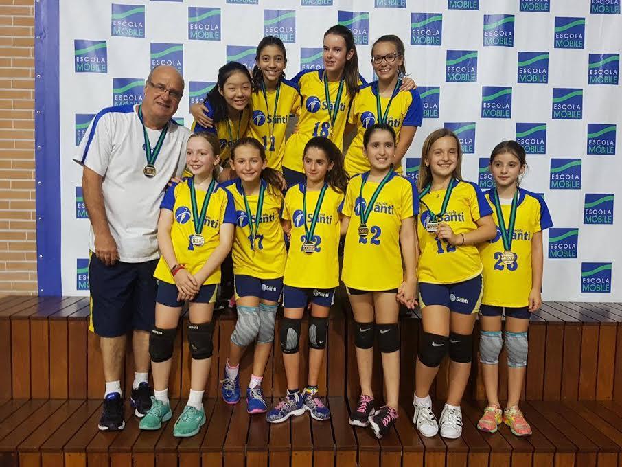 Vôlei, Futsal E Basquete