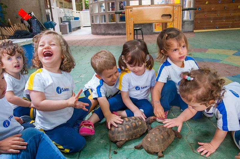 Educação Infantil - pátio coberto