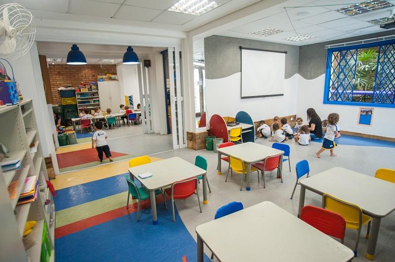 Educação Infantil - salas de aula.