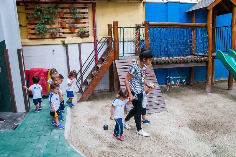 Educação Infantil - praça da areia