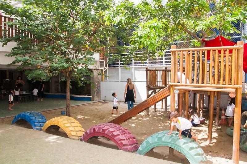 Educação Infantil - quintal