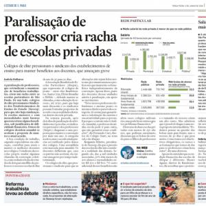 05/06 – Paralisação De Professor Cria Racha De Escolas Privadas