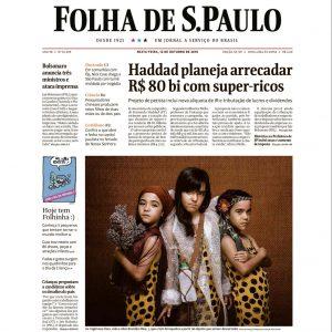 12/10 – Folha De SP: Conheça Histórias De Crianças Que Se Mexem Para Mudar A Realidade