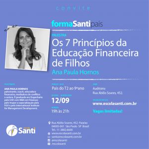 35° FormaSanti-pais: Os 7 Princípios Da Educação Financeira De Filhos