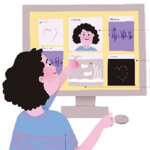 01/04 –  Nova Escola: Professora Cria Painel Digital Para Que Alunos Registrem Sentimentos