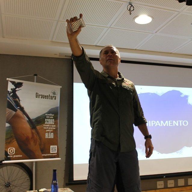 Nestor Freire, Idealizador Do Projeto Giraventura, Palestrou Na Escola Santi Antes De Sua Partida