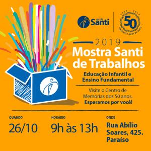 Mostra Santi De Trabalhos 2019