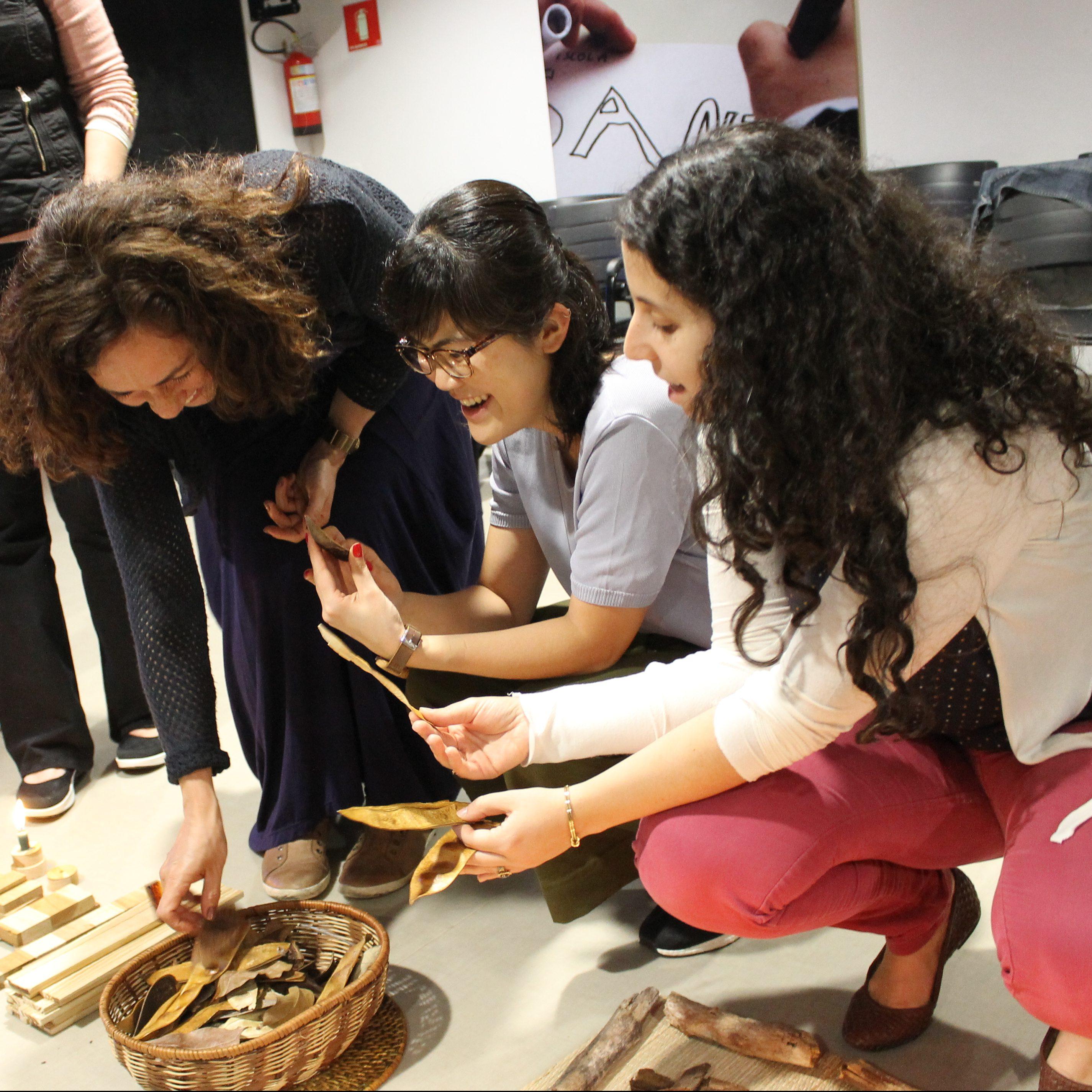 Santi Realiza Formação Para Professores Sobre Espaço, Arte E Natureza