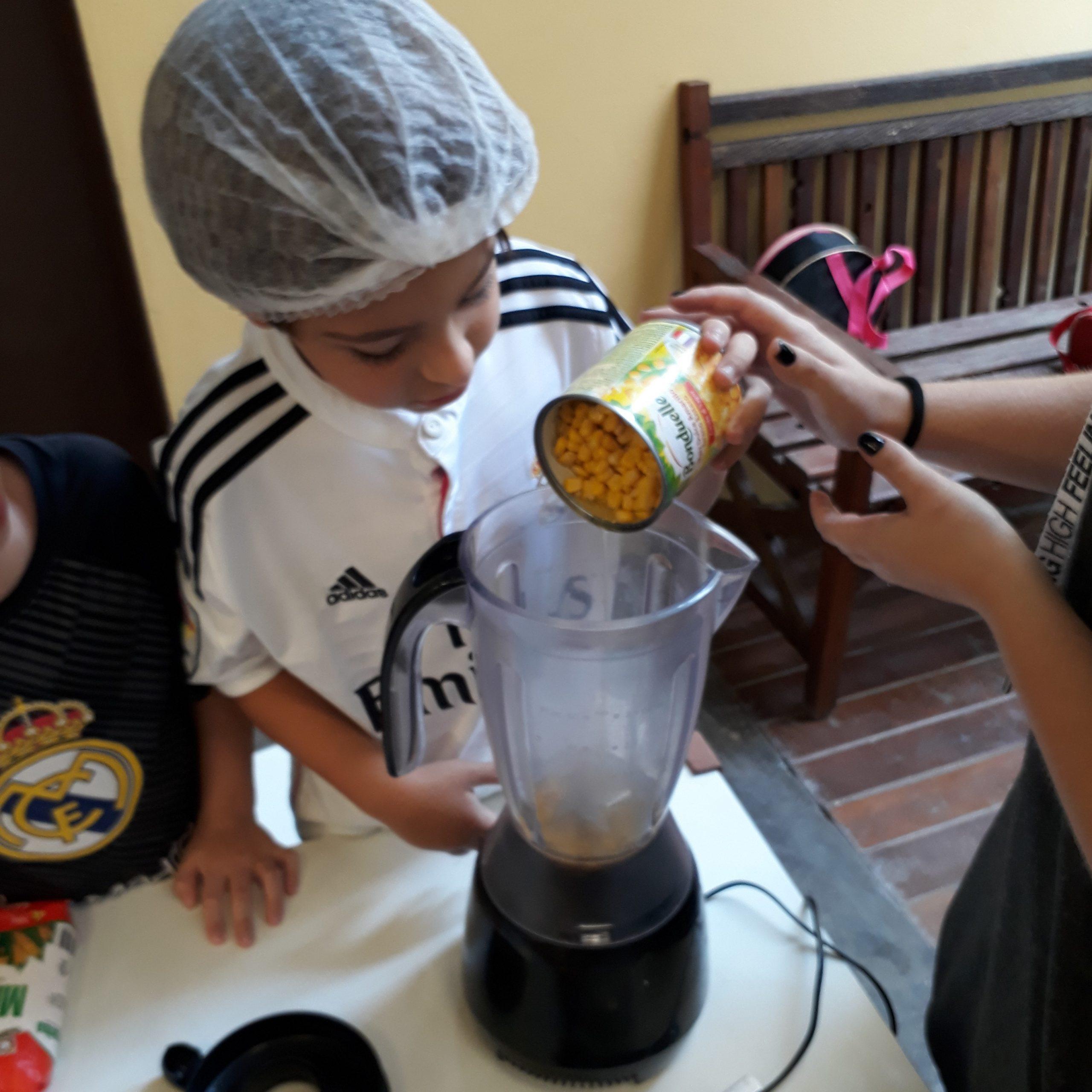 Receita: Bolo Cremoso De Milho – 1° Ano D