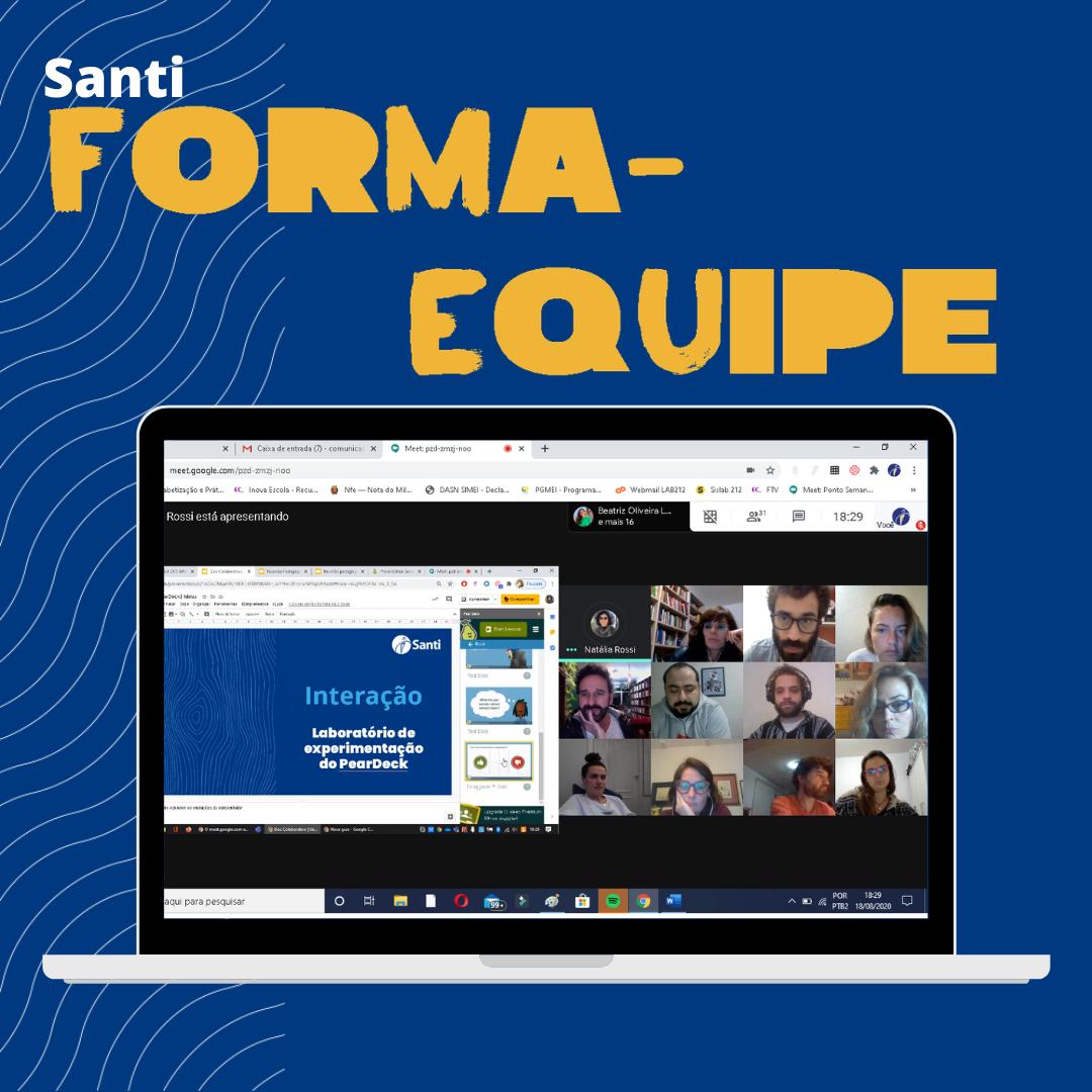 Formação – Interação No Desenho De Atividades On-line