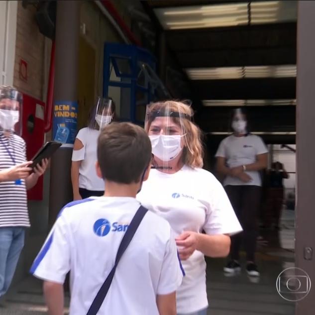 14/10 – SP1: Especialistas Comentam Abertura De Escolas Para Atividades De Reforço Na Capital