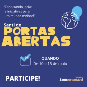 Santi De Portas Abertas 2021