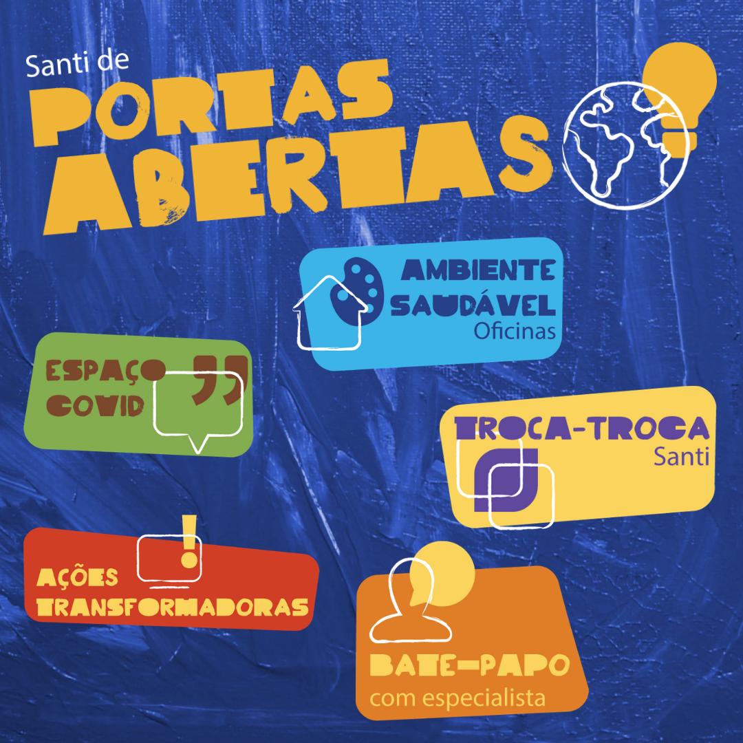 Ambiente Virtual – Santi De Portas Abertas